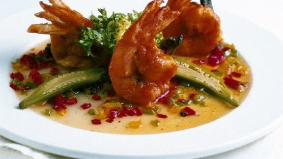 Chef Stephen Stryjewski reviews Shrimp & Tasso Henican at