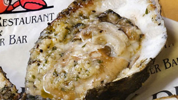 Drago's original charbroiled oysters at Drago's Seafood