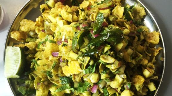Green Mango Chaat at Chai Pani