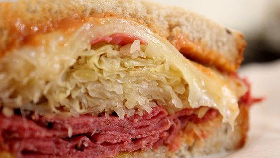 Rachel sandwich at Stein's Market & Deli