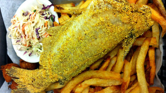 Chef Susan Spicer reviews Whole fried catfish at High Hat