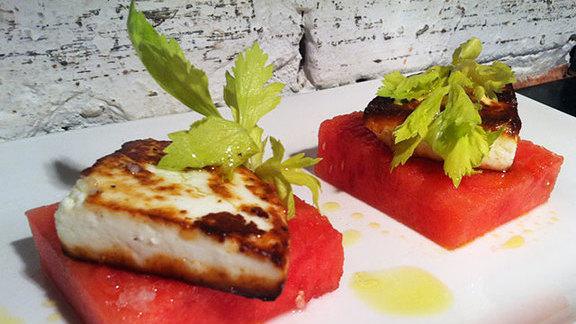 Chef Timon Balloo reviews Melons & cheese at