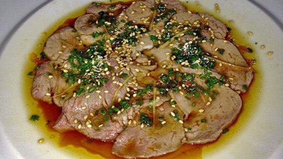New style beef at Nobu