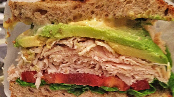 Chef Hedy Goldsmith reviews Turkey, avocado, lettuce & tomato sandwich at