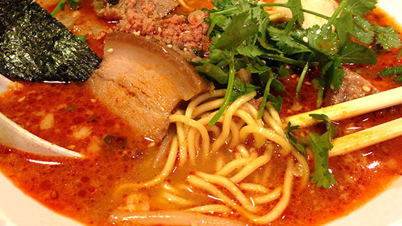 Tan tan men ramen at Himawari