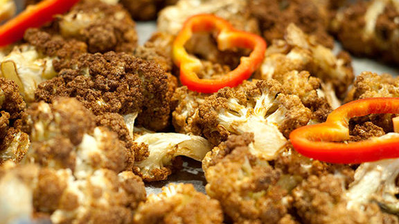 Cauliflower at Fadi's Mediterranean Grill