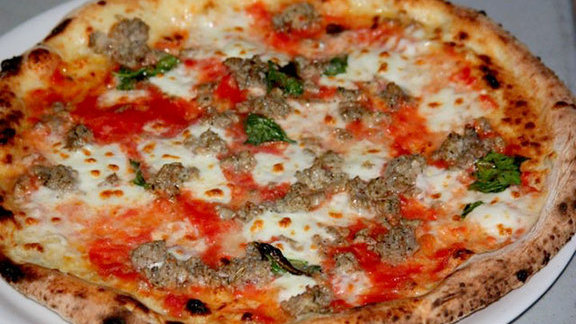 Che Cazzo pizza at Cane Rosso