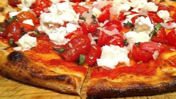 Buffalina pizza at Urban Crust Wood Fired Pizza