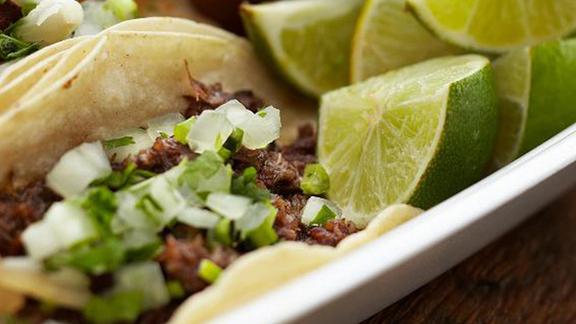Picadillo taco at Fuel City