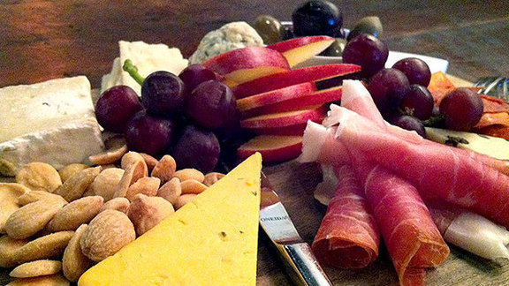 Cheese & salumi at Veritas Wine Room