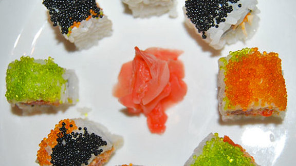 Chef David McMillan reviews Sushi at
