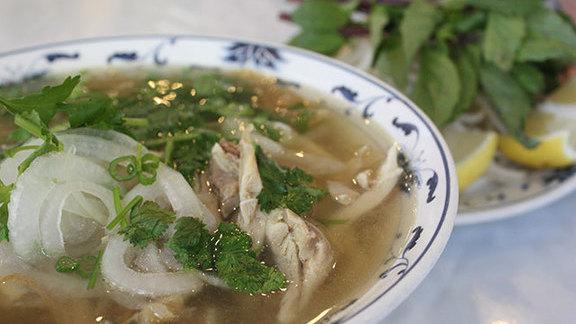 Phở gà at Nha Hang Chay