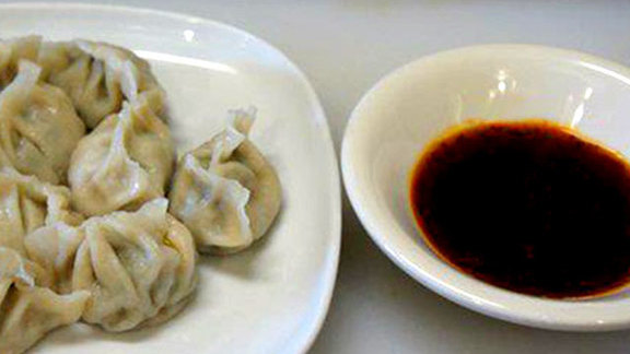 Handmade dumplings at Beijing Hot Pot