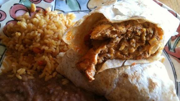 Chef Rodney Staton reviews Chorizo & egg burrito at
