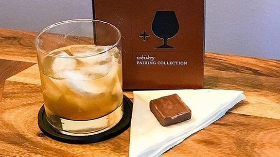 Chocolate and whiskey  at Recchiuti Confections