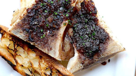 Chef Naomi Pomeroy reviews Roasted marrow bones at