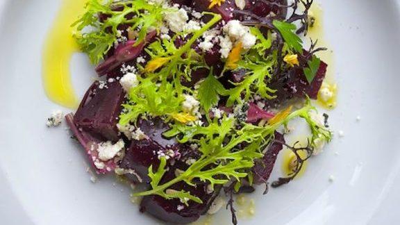 Chef Naomi Pomeroy reviews Roasted beets & ricotta salata at