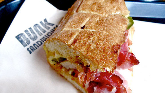 Chef Gabriel Rucker reviews Pork belly cubano at