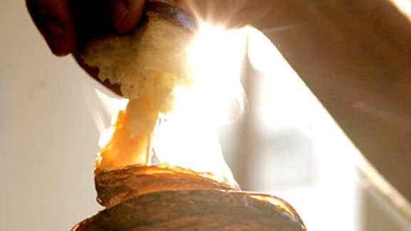 Croissant at Ken's Artisan Bakery