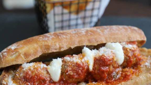 Meatballs, Mozzarella, San Marzano Tomato Sauce at 2941 Restaurant