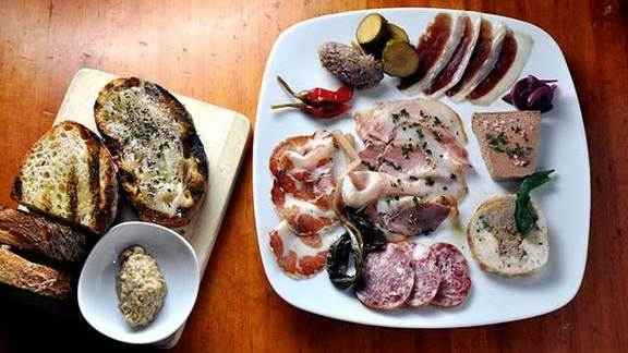Chef Philip Speer reviews Housemade charcuterie at Hearth