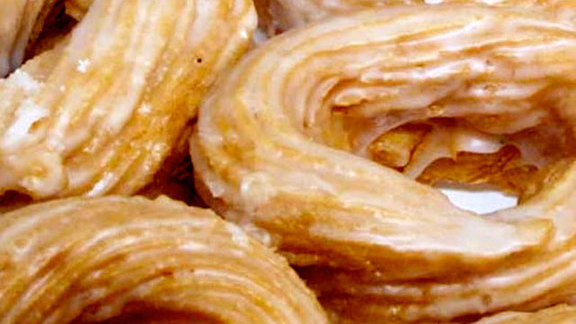 Cinnamon Cruller at The Donut Pub