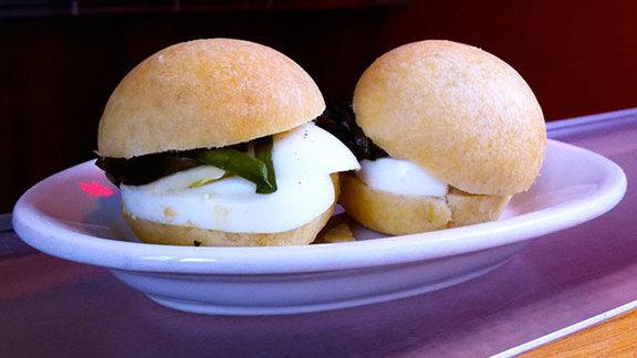 Chef Sara Jenkins reviews Daily sandwich at