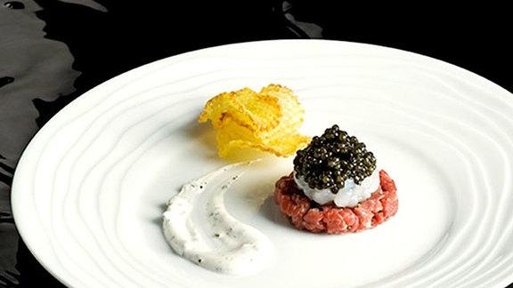 Caviar-wagyu at Le Bernardin