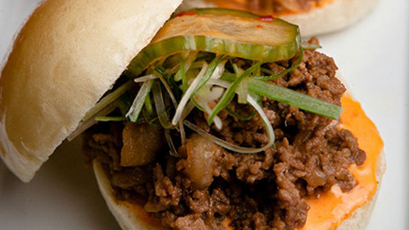 Chef Greg Daniels reviews Bulgogi beef sliders at Danji