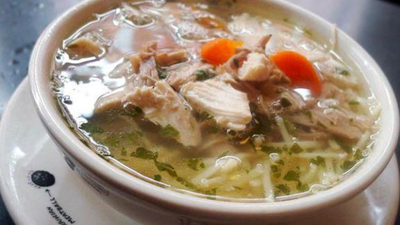 Chef Albert Di Meglio reviews Chicken noodle soup at