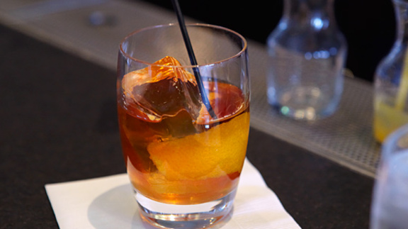 Chef Andrew Richardson reviews Bar menu at The Slanted Door
