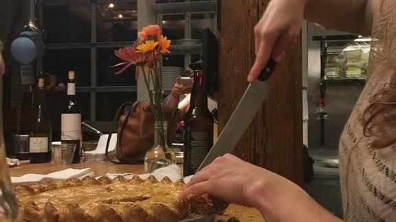 Chef Ryan Smith reviews Tomato Pie at Staplehouse