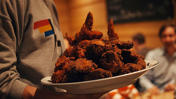 Fried chicken at Momofuku Noodle Bar