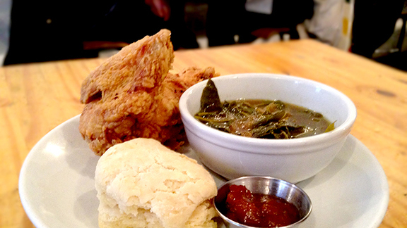 Chef Harold Dieterle reviews Fried chicken at