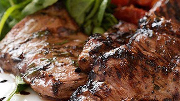 Chef Jill Barron reviews Organic veal skirt steak at