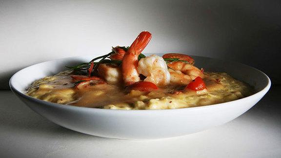 Shrimp & grits at Big Jones