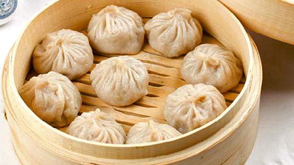 Shanghai style pork dumplings at Potsticker House
