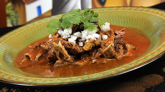 Plate of birria at Birrieria Zaragoza