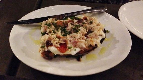 Smoked Mackerel Tartine at Bestia