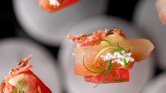 Chef Cleetus Friedman reviews Tour menu at Alinea