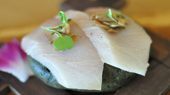 Secret hamachi at Arami