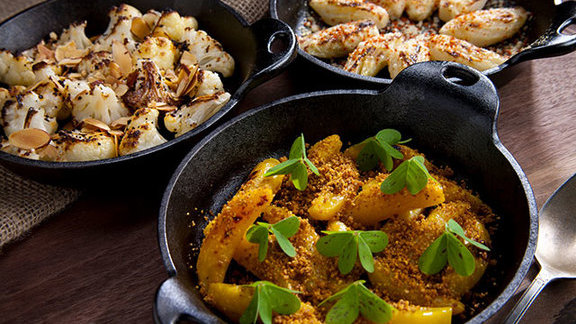 Chef Taylor Boetticher reviews Wood oven roasted vegetables at