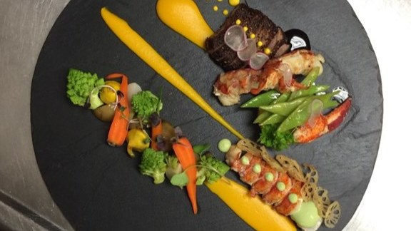 Chef Antonio Park reviews Surf & Turf, mixed vegetables, radish at Park Restaurant