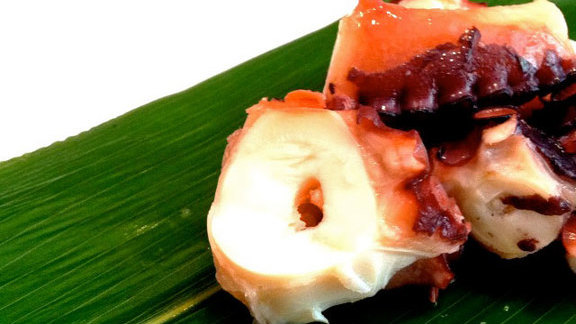 Chef Marco Canora reviews Octopus w/ sea salt at