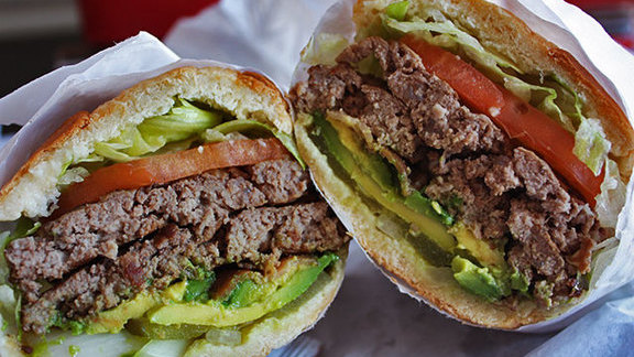 Chef Mark Sullivan reviews Whiz burger at