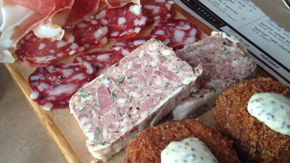 Charcuterie Board at Chi Spacca