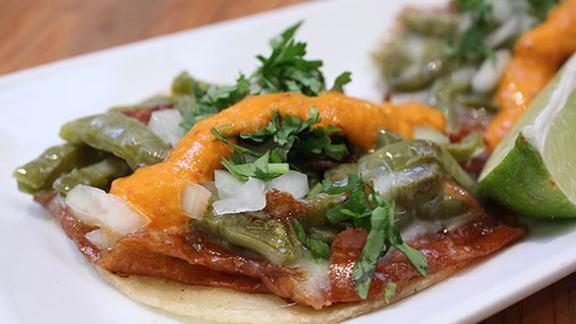 Chef Greg Dunmore reviews Taco El Califa at