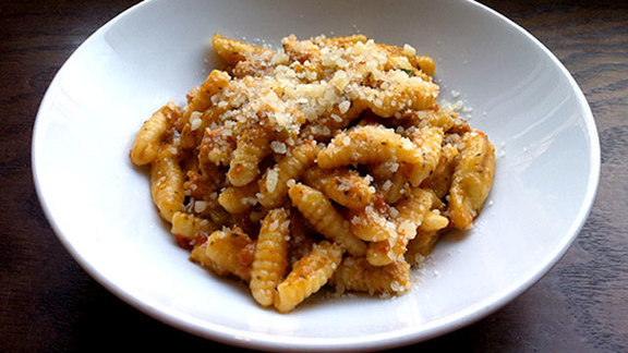 Cavatelli di pollo at Coppa