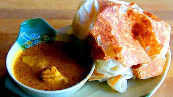 Chef Shaun Doty reviews Roti canai at