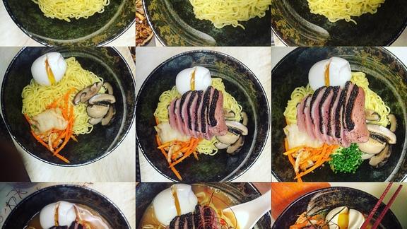 Chef Josh Niernberg reviews Bin ramen at